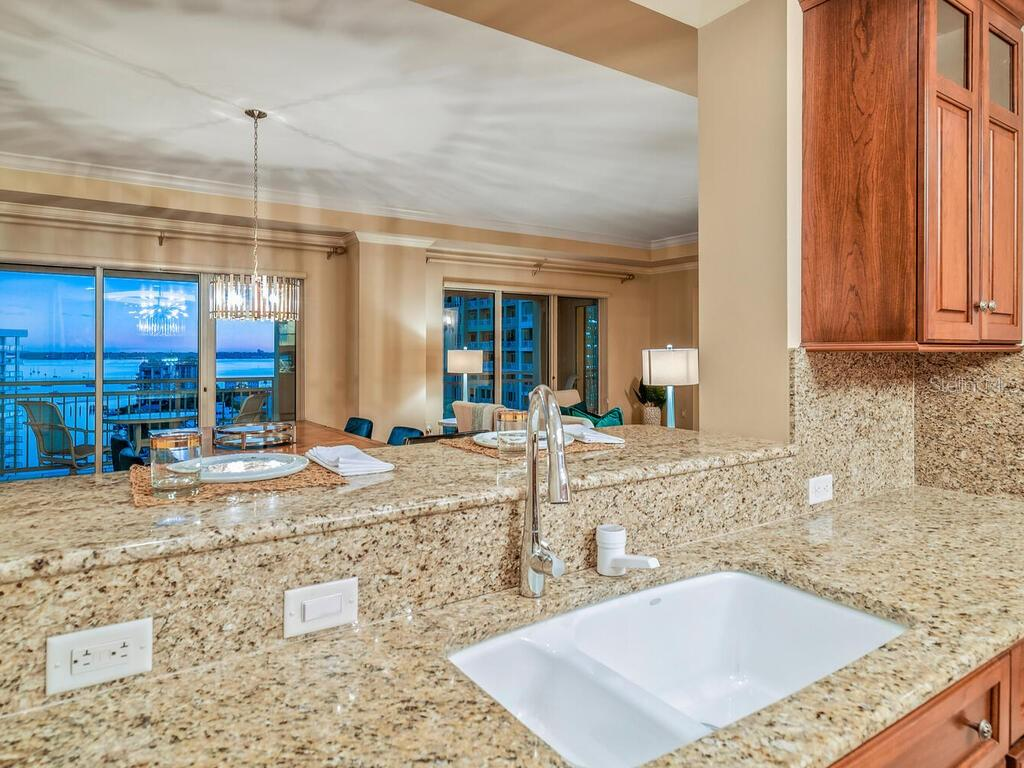 Water views from here too... - Condo for sale at 1111 Ritz Carlton Dr #1506, Sarasota, FL 34236 - MLS Number is A4480943