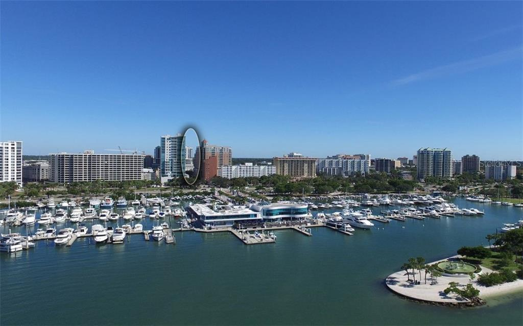 our bay front and marina 2 blocks away - Condo for sale at 50 Central Ave #16a, Sarasota, FL 34236 - MLS Number is A4482401