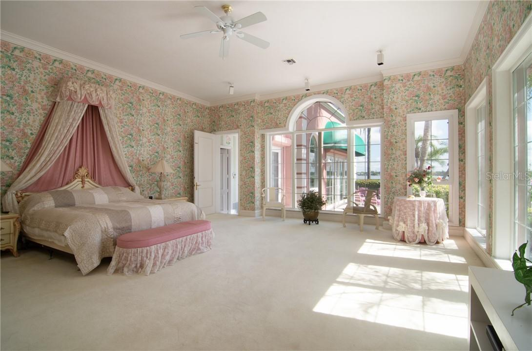 Master bedroom - Single Family Home for sale at Address Withheld, Sarasota, FL 34242 - MLS Number is A4483403