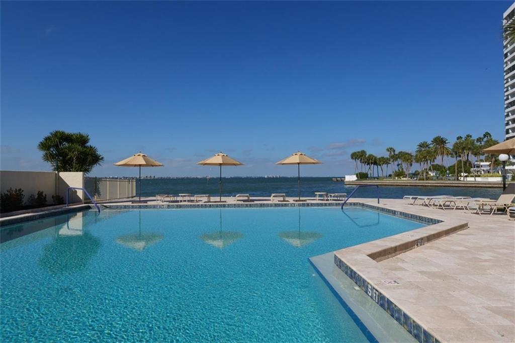 Huge resort-style pool on Sarasota Bay - Condo for sale at 101 Sunset Dr #103, Sarasota, FL 34236 - MLS Number is A4486187