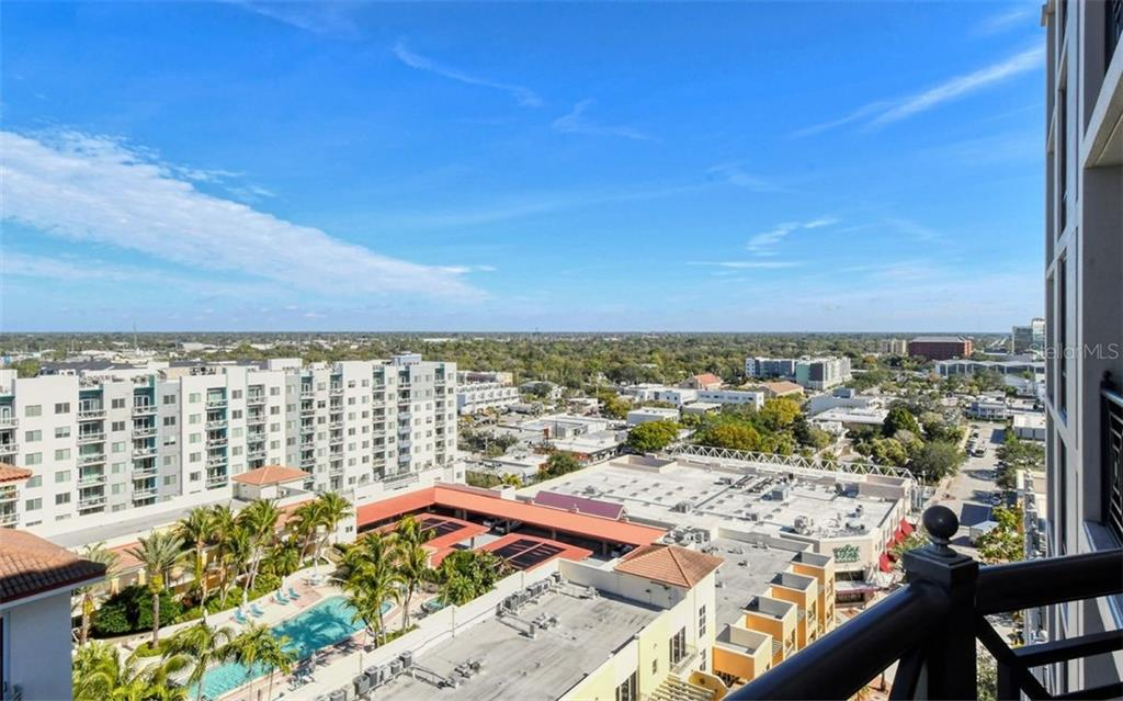 Looking north east - Condo for sale at 50 Central Ave #14b, Sarasota, FL 34236 - MLS Number is A4487974