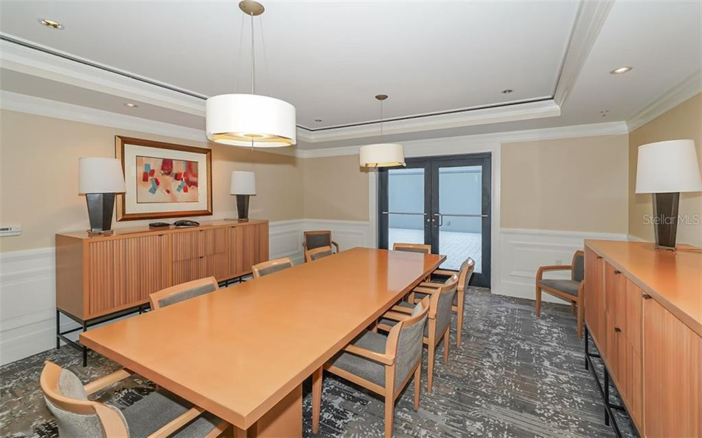 Meeting room - Condo for sale at 50 Central Ave #14b, Sarasota, FL 34236 - MLS Number is A4487974