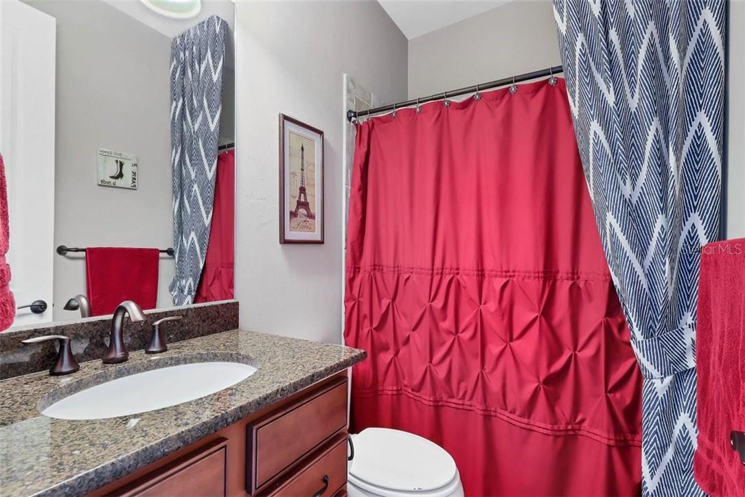 Bathroom #3 upstairs. - Single Family Home for sale at 11713 Blue Hill Trl, Bradenton, FL 34211 - MLS Number is A4490622