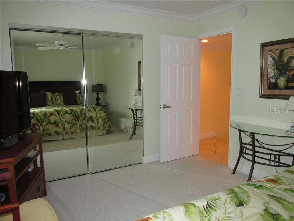 GUEST BEDROOM - Condo for sale at 1087 W Peppertree Dr #221d, Sarasota, FL 34242 - MLS Number is A4493593