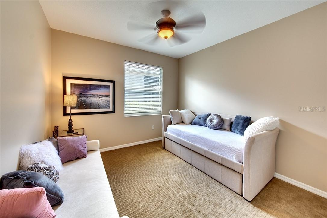 Bedroom #3 - Single Family Home for sale at 7739 Us Open Loop, Lakewood Ranch, FL 34202 - MLS Number is A4494156