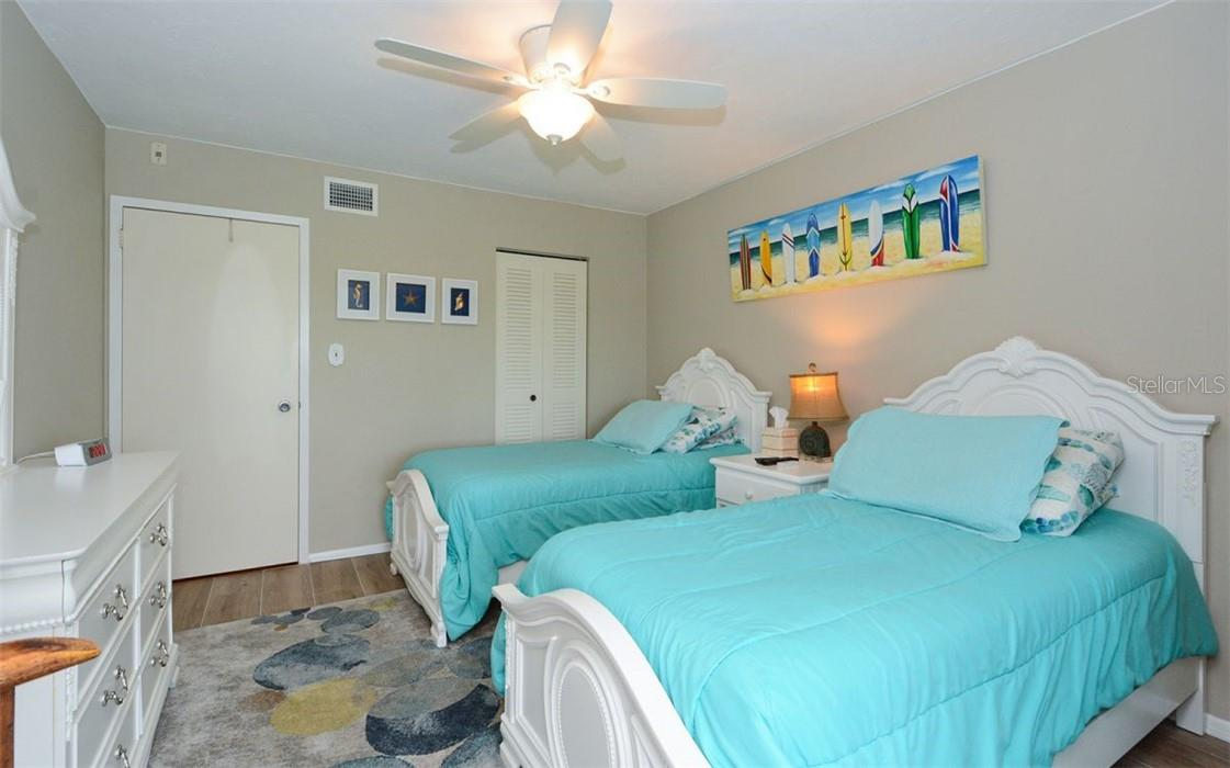 2nd Bedroom - Condo for sale at 1200 E Peppertree Ln #602, Sarasota, FL 34242 - MLS Number is A4495963