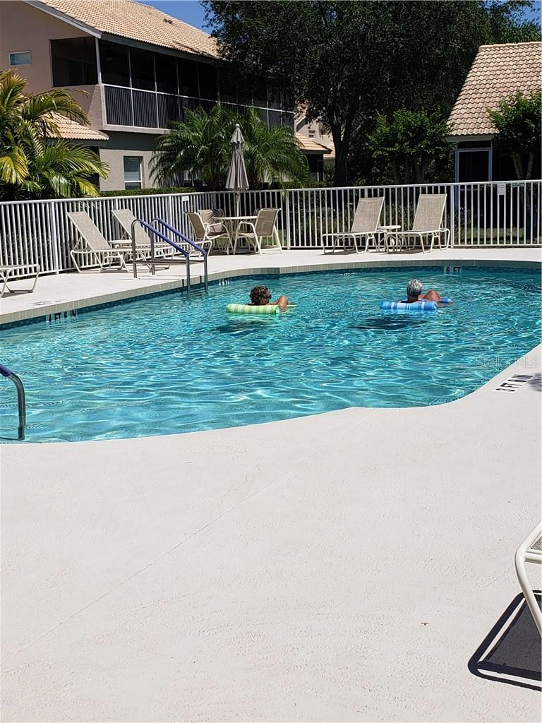 Heated Pool - Condo for sale at 6749 Fairview Ter #201, Bradenton, FL 34203 - MLS Number is A4497580