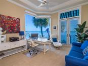 Office with bay views - Single Family Home for sale at 640 Rountree Dr, Longboat Key, FL 34228 - MLS Number is A4169177