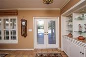 Front entry - Single Family Home for sale at 5281 Cape Leyte Way, Sarasota, FL 34242 - MLS Number is A4171478