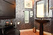 Powder Room (half bath) - Single Family Home for sale at 602 Weston Pointe Ct, Longboat Key, FL 34228 - MLS Number is A4178531