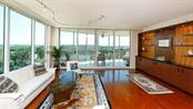Living Room with stunning views - Condo for sale at 409 N Point Rd #601, Osprey, FL 34229 - MLS Number is A4189564