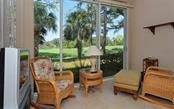 Another picture from the enclosed lanai of the sweeping fairway views. - Condo for sale at 9570 High Gate Dr #1712, Sarasota, FL 34238 - MLS Number is A4196327