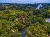 Home is set back from road for privacy - Single Family Home for sale at 7340 Pine Needle Rd, Sarasota, FL 34242 - MLS Number is A4200855