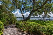 Private Dock Pathway - Single Family Home for sale at 6609 Peacock Rd, Sarasota, FL 34242 - MLS Number is A4210220