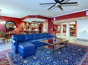 Living Room - Volume Ceilings - Condo for sale at 1300 Benjamin Franklin Dr #603, Sarasota, FL 34236 - MLS Number is A4213631