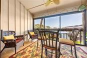 Full Harbor views from lanai. - Condo for sale at 1215 Dockside Pl #204, Sarasota, FL 34242 - MLS Number is A4215997