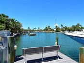 Private Dock - Waterway - Single Family Home for sale at 85 S Polk Dr, Sarasota, FL 34236 - MLS Number is A4400870