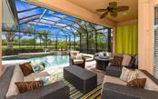 Fabulous outdoor pool area offers both shaded and open options. - Single Family Home for sale at 506 River Crane St, Bradenton, FL 34212 - MLS Number is A4403278
