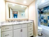 Guest Bath - Condo for sale at 4215 Gulf Of Mexico Dr #103, Longboat Key, FL 34228 - MLS Number is A4404956