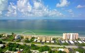 Aerial view of longboat Beach house and Gulf of  Mexico - Condo for sale at 4311 Gulf Of Mexico Dr #601, Longboat Key, FL 34228 - MLS Number is A4405195