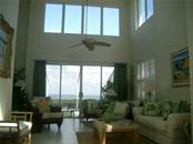 Great Room looking to BAY - Single Family Home for sale at 3452 Mistletoe Ln, Longboat Key, FL 34228 - MLS Number is A4415200
