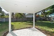 Patio of of the Master Suite - Single Family Home for sale at 2300 Mietaw Dr, Sarasota, FL 34239 - MLS Number is A4423151