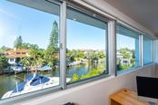 Great View from the office/den - overlooking this amazing waterfront Siesta Key community! - Single Family Home for sale at 509 Venice Ln, Sarasota, FL 34242 - MLS Number is A4425092