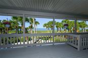 Existing home view from balcony - Single Family Home for sale at 513 Casey Key Rd, Nokomis, FL 34275 - MLS Number is A4430962