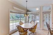 Breakfast area overlooking pastures... - Single Family Home for sale at 7945 Palmer Blvd, Sarasota, FL 34240 - MLS Number is A4431318