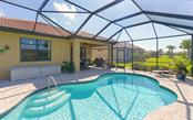 Heated salt water pool - Single Family Home for sale at 13337 Pacchio St, Venice, FL 34293 - MLS Number is A4437569