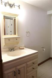 Guest (hall) bathroom vanity - Single Family Home for sale at 2220 Pine Ter, Sarasota, FL 34231 - MLS Number is A4440562