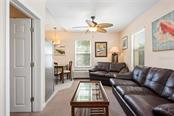 Clown Living Room and Dining. - Single Family Home for sale at 523 Beach Rd, Sarasota, FL 34242 - MLS Number is A4446354