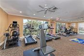 Well-equipped fitness center. - Condo for sale at 1080 W Peppertree Ln #406a, Sarasota, FL 34242 - MLS Number is A4446520