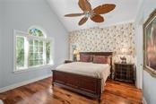 Guest bedroom | Second floor. - Single Family Home for sale at 711 Mangrove Point Rd, Sarasota, FL 34242 - MLS Number is A4447637