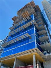 Gilbane Construction is working their way to building top off and 18 stories of pure luxury. - Condo for sale at 605 S Gulfstream Ave #15, Sarasota, FL 34236 - MLS Number is A4453705