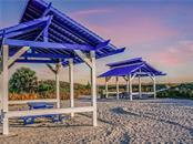 The picnic area at The Bay Isles Beach Club, truly a hidden gem. - Single Family Home for sale at 1590 Harbor Sound Dr, Longboat Key, FL 34228 - MLS Number is A4463437