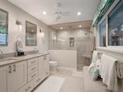 Sunset master bathroom view - Single Family Home for sale at 500 Beach Rd #1, Sarasota, FL 34242 - MLS Number is A4474527