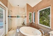 A private entry to your master spa bathroom ! - Single Family Home for sale at 501 Cutter Ln, Longboat Key, FL 34228 - MLS Number is A4480484