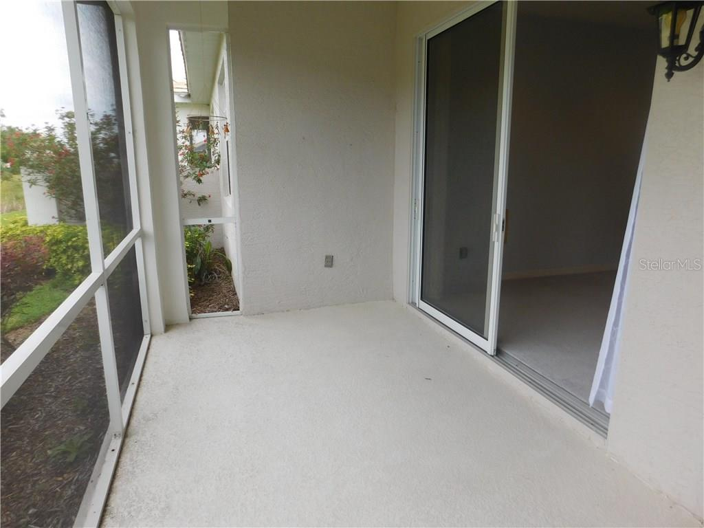 Lanai - Villa for sale at 1649 Monarch Dr #1649, Venice, FL 34293 - MLS Number is N5909224