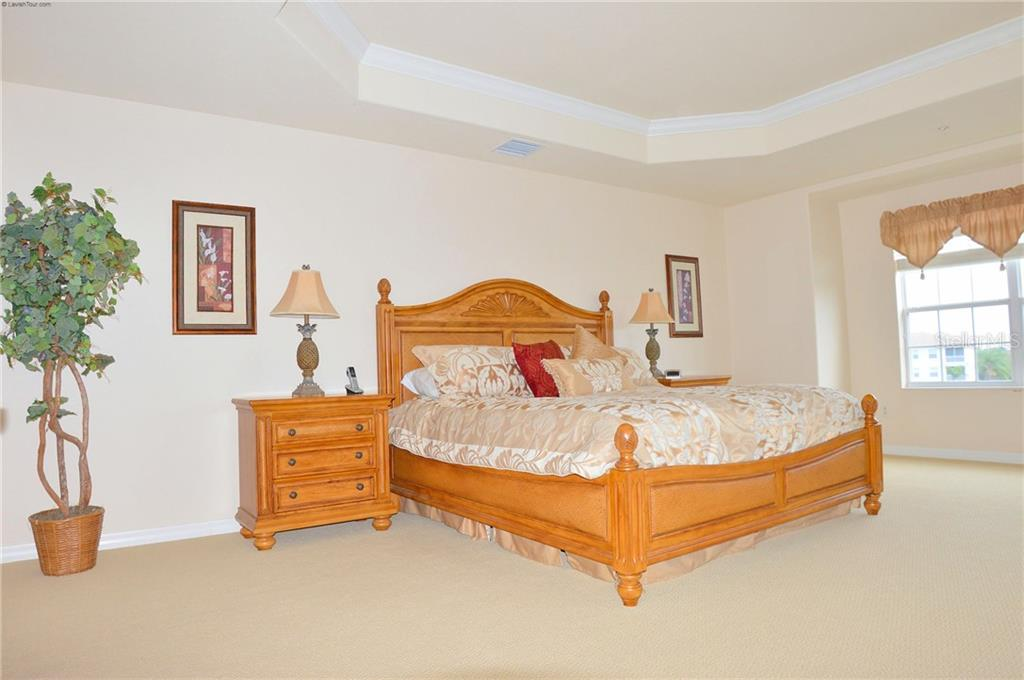 Master Bedroom - Condo for sale at 1100 San Lino Cir #1134, Venice, FL 34292 - MLS Number is N5910364