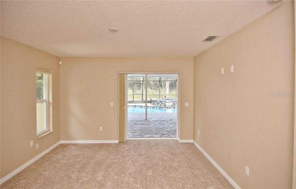 2nd Master Bedroom with pool access - Single Family Home for sale at 2505 Northway Dr, Venice, FL 34292 - MLS Number is N5911099