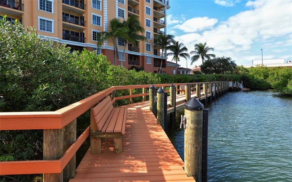 Dock - Condo for sale at 167 Tampa Ave E #513, Venice, FL 34285 - MLS Number is N5911190