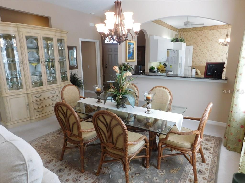 Dining Room - Villa for sale at 1578 Monarch Dr #1578, Venice, FL 34293 - MLS Number is N5911451