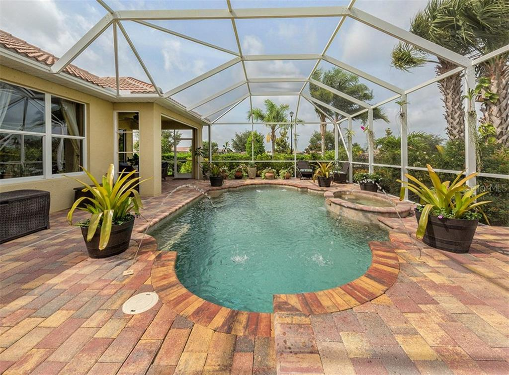 Pool/Spa/Lanai - Single Family Home for sale at 19131 Kirella St, Venice, FL 34293 - MLS Number is N5913074