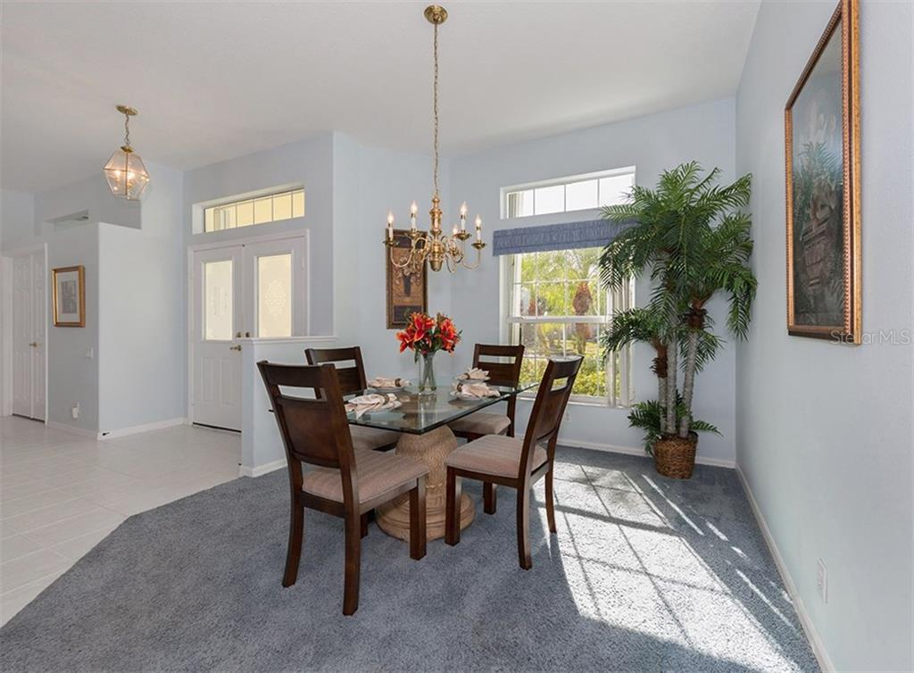 Dining room - Single Family Home for sale at 2122 Timucua Trl, Nokomis, FL 34275 - MLS Number is N5913111