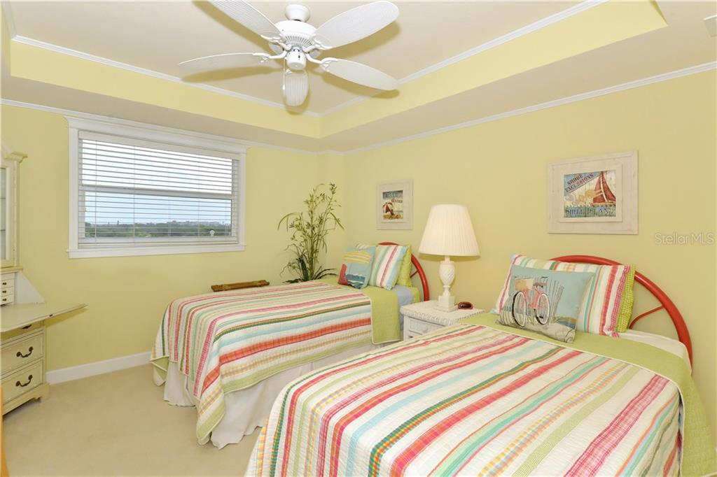 Large second Master Suite with coffered ceiling - Condo for sale at 255 The Esplanade N #706, Venice, FL 34285 - MLS Number is N5913875