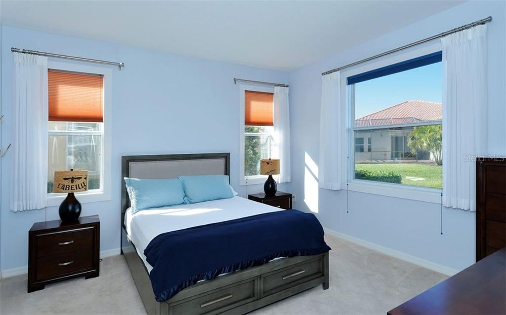 Master Bedroom - Villa for sale at 10889 Lerwick Cir, Englewood, FL 34223 - MLS Number is N5916198