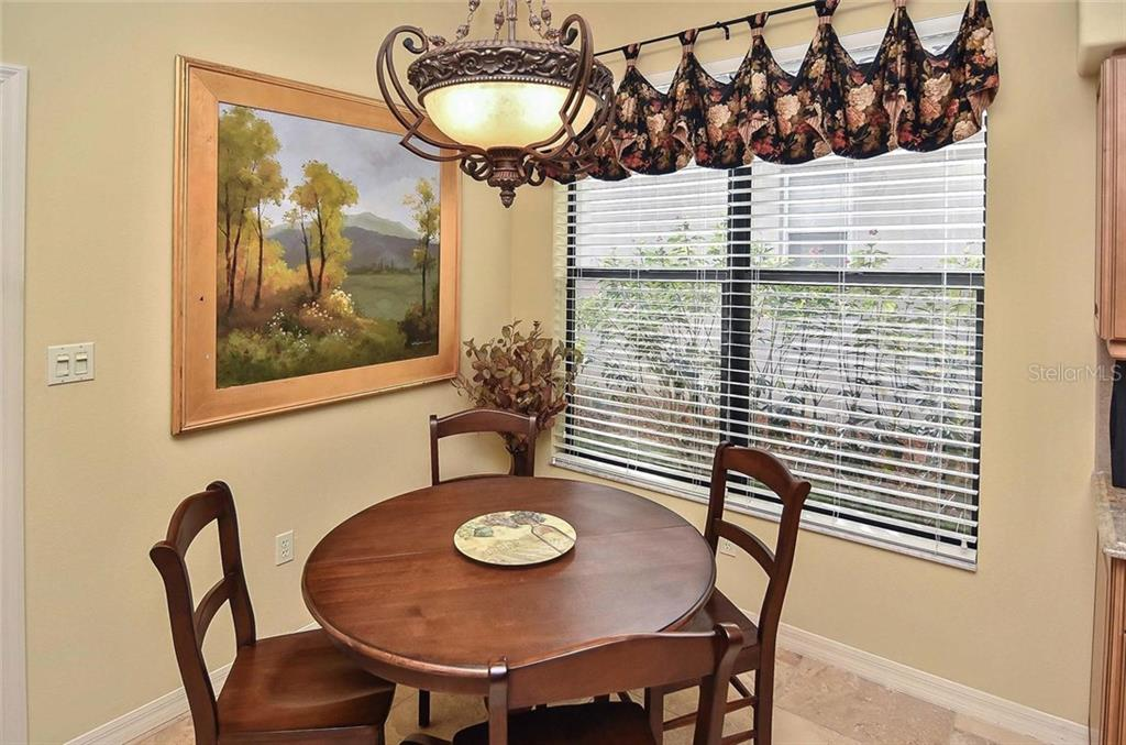 Dinette - Single Family Home for sale at 769 Sawgrass Bridge Rd, Venice, FL 34292 - MLS Number is N5916484
