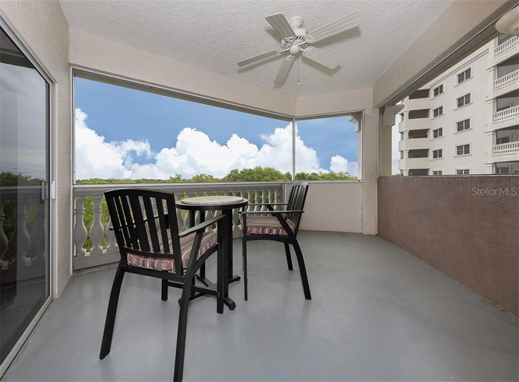 Balcony - Condo for sale at 3730 Cadbury Cir #420, Venice, FL 34293 - MLS Number is N5916974