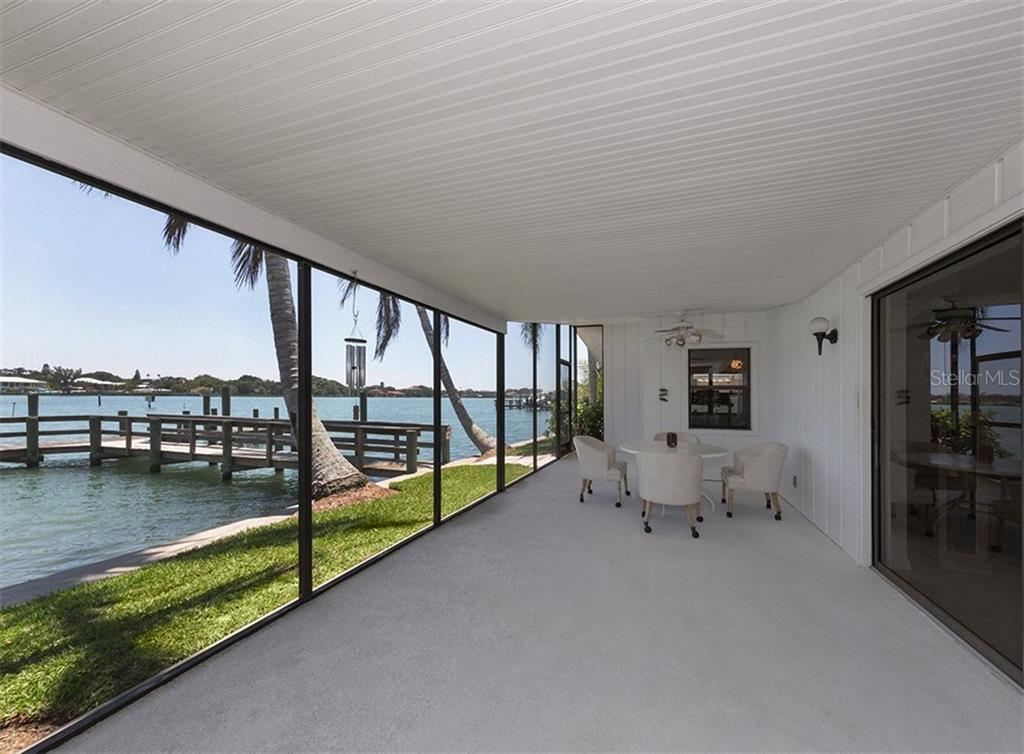 Lanai/Water View - Single Family Home for sale at 199 Bayview Pkwy, Nokomis, FL 34275 - MLS Number is N6100311